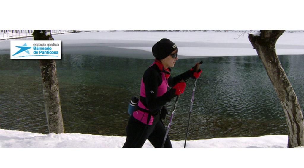 Esquí de fondo en el Balnerio de Panticosa