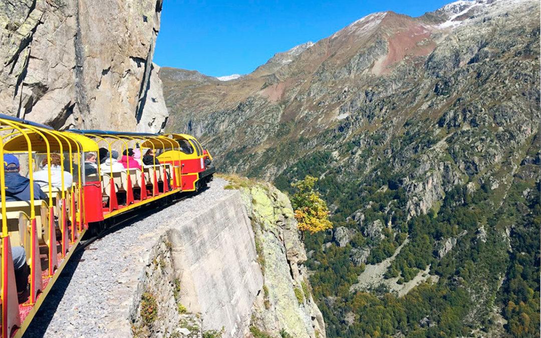 El Tren de Artouste, un viaje de altura en pleno Pirineo